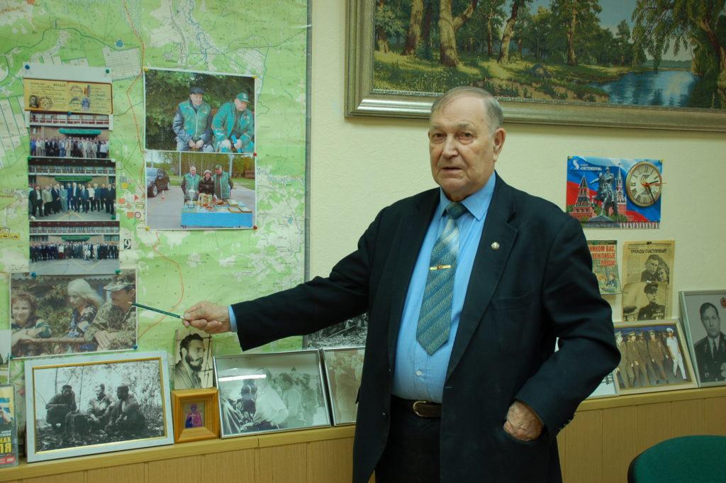 Поздравляем с днем рождения члена ЦС ВОО-ОСОО Виктора Глушкова