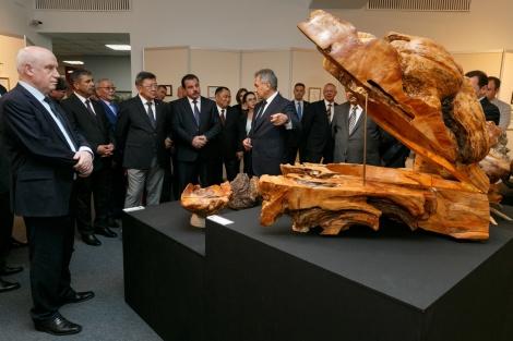 Сергей Шойгу: художник и скульптор