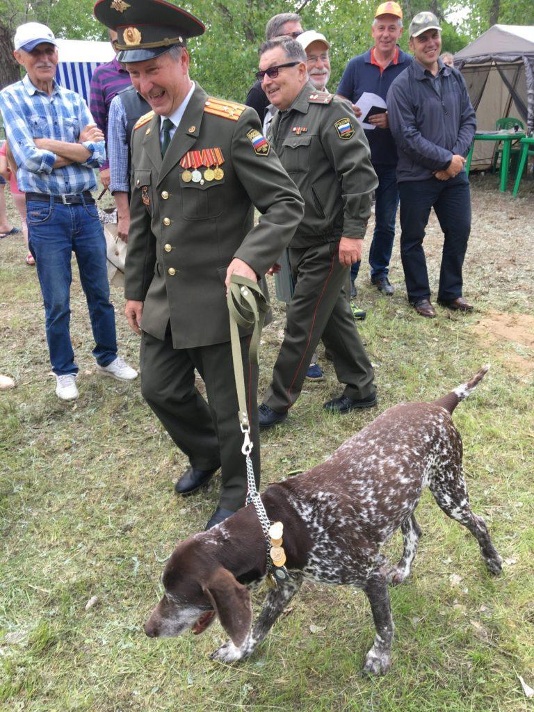 VI Межрегиональная выставка охотничьих собак