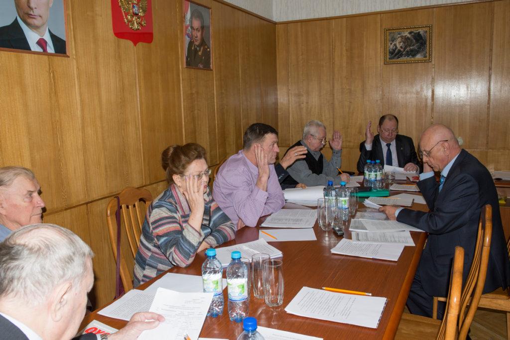 В Центральном совете ВОО-ОСОО