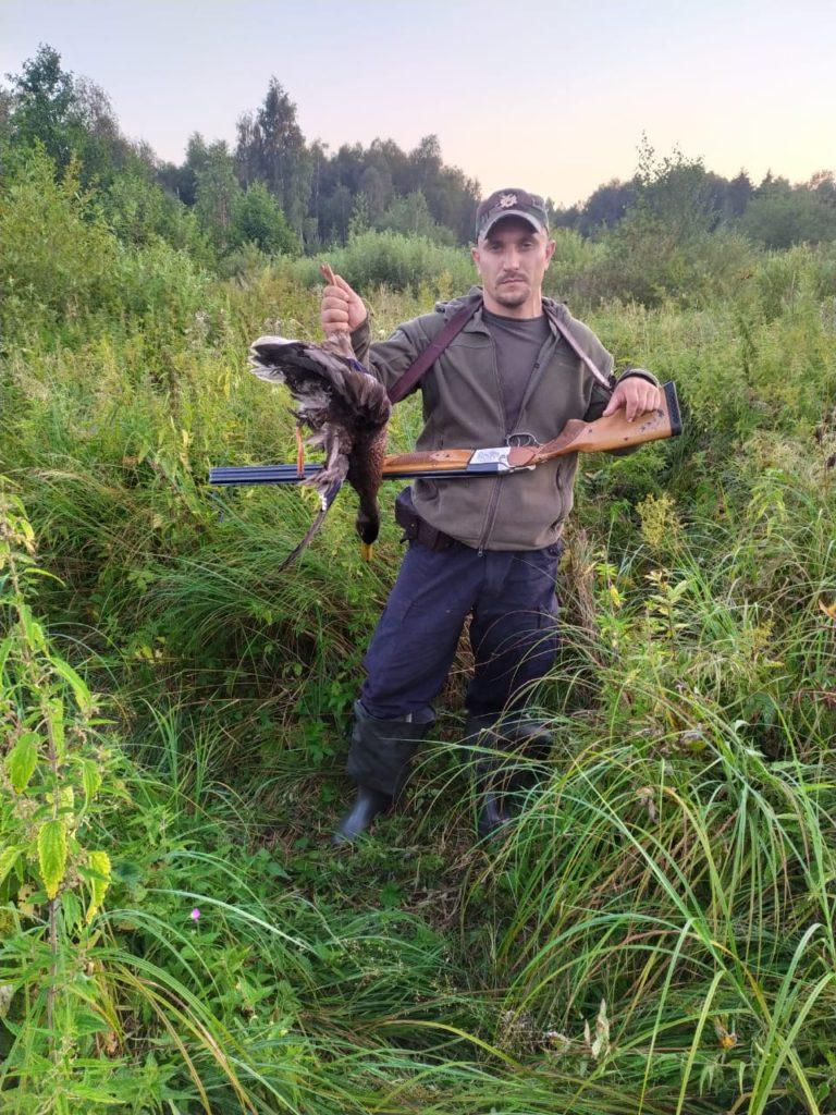 Добыто в Озерецком охотхозяйстве