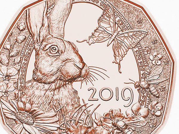 Зайцы на монетах